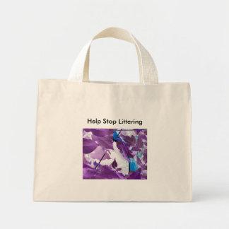 錫のスクラップのバッグ ミニトートバッグ