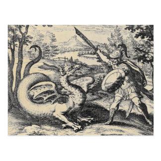 錬金術のドラゴン ポストカード