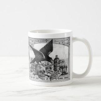 錬金術の実験室のコーヒー・マグ コーヒーマグカップ