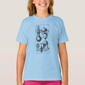 錬金術の実験室ビーカーおよび用具 Tシャツ