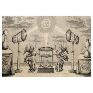 錬金術の神の天使 ウッドポスター