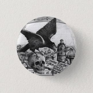 錬金術の芸術ボタン 3.2CM 丸型バッジ