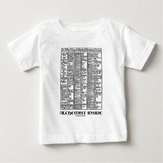 錬金術師の内部(錬金術のテーブル) ベビーTシャツ