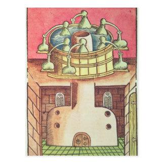 錬金術師の湯せんかbain-marie ポストカード