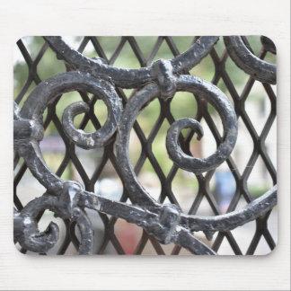 錬鉄のゲートの北西側ニューヨークNYC マウスパッド