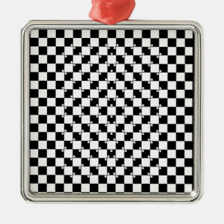 錯覚のコレクション。 項目3 メタルオーナメント
