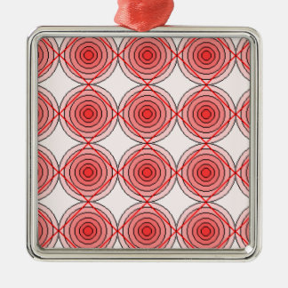 錯覚のコレクション。 項目5 シルバーカラー正方形オーナメント