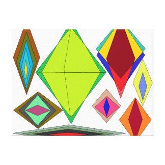 錯覚のダイヤモンド キャンバスプリント