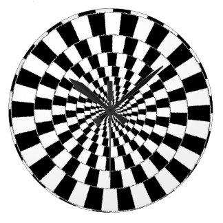 錯覚の時計 ラージ壁時計