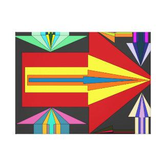 錯覚の矢 キャンバスプリント