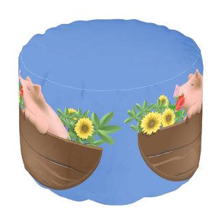 鍋のブタ プーフ