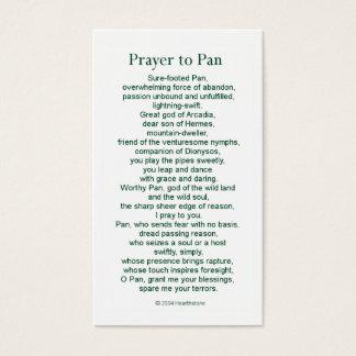 鍋の祈りの言葉カード 名刺