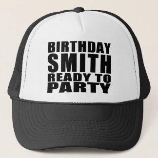 鍛冶屋: パーティを楽しむこと準備ができている誕生日スミス キャップ