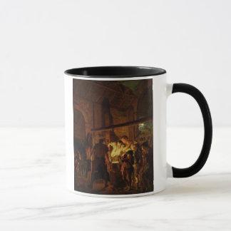 鍛治屋の店(キャンバスの油) マグカップ