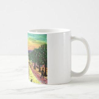 鍛治屋の針のニューキャッスルのQuayside コーヒーマグカップ