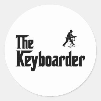 鍵盤楽器奏者 ラウンドシール