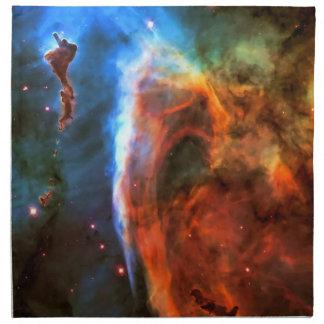 鍵穴の星雲およびDigitus Impudicus ナプキンクロス