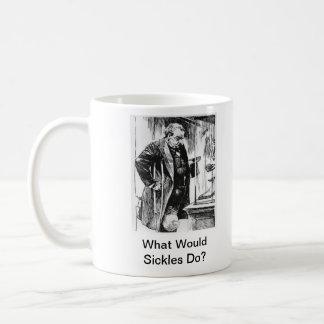 鎌は何をしますか。 内戦記念日のマグ コーヒーマグカップ