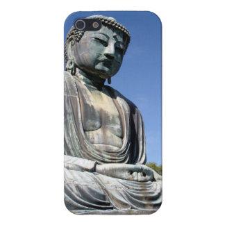鎌倉、日本の仏の彫像 iPhone SE/5/5sケース