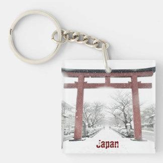 鎌倉、日本KeychainのToriiのゲート キーホルダー