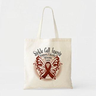 鎌状細胞貧血症の蝶3 トートバッグ