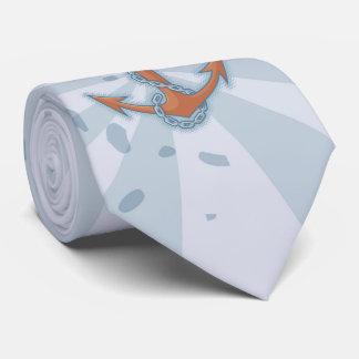 鎖を持ついかり オリジナルネクタイ