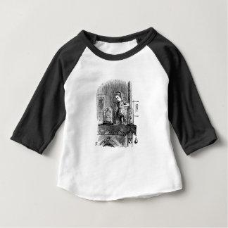鏡のアリス ベビーTシャツ
