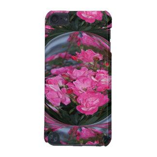 鏡の球を持つピンクのバラはiPodのtouchcaseをもたらします iPod Touch 5G ケース