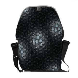鏡の磁石のカスタムなフラクタルの芸術 メッセンジャーバッグ