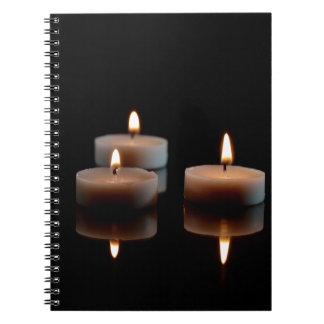 鏡の蝋燭 ノートブック