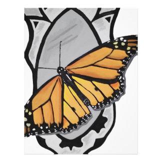 鏡の蝶 レターヘッド