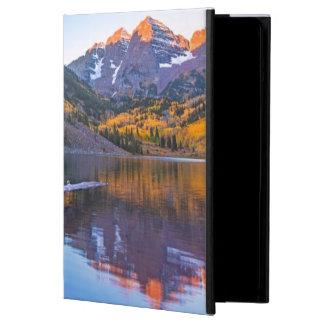 鐘あずき色のAlpenの白熱 iPad Airケース