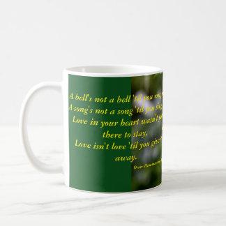 鐘のない鐘… コーヒーマグカップ