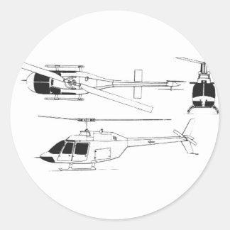 鐘のジェット機のレーンジャー/TH ラウンドシール