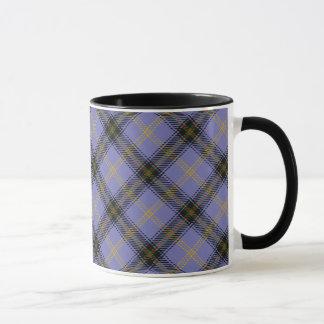 鐘のスコットランドの一族のタータンチェックのマグ マグカップ
