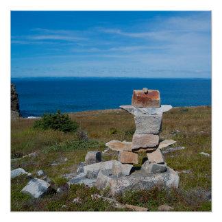鐘の島ニューファウンドランド ポスター