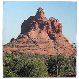 鐘の石、セドナ、アリゾナ、米国 ナプキンクロス