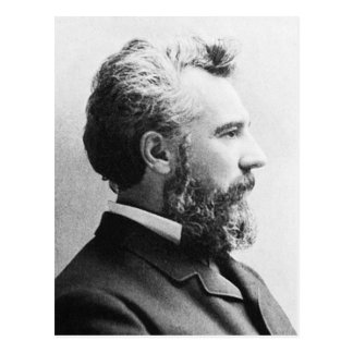 鐘の~アレキサンダーグラハム/発明家の教育者 ポストカード