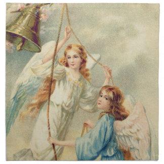 鐘を鳴らす天使の天使の天国 ナプキンクロス