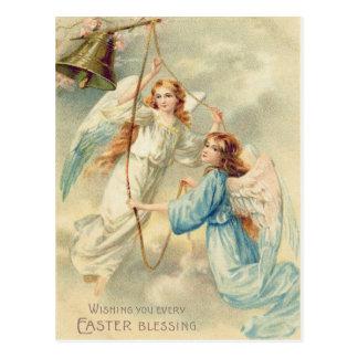 鐘を鳴らす天使の天使の天国 ポストカード