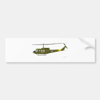 鐘UH-1Dのイロクォイ人 バンパーステッカー
