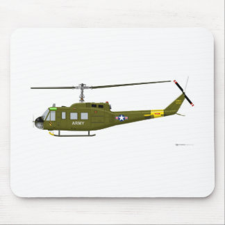 鐘UH-1Dのイロクォイ人 マウスパッド