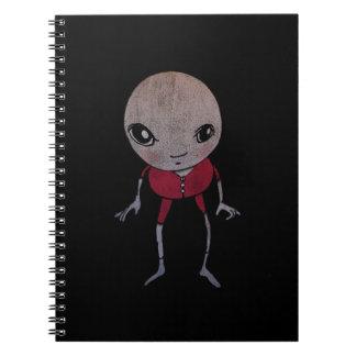 長いジョンズの小さいノート ノートブック