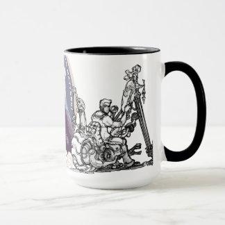 長いチョッパーのコーヒー及び芸術 マグカップ