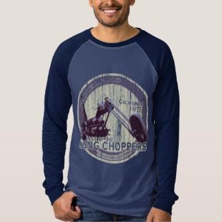 長いヴィンテージのチョッパー#2 Tシャツ