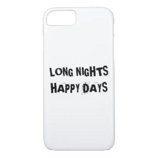 長い夜幸せな日のiPhone 7 iPhone 8/7ケース