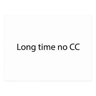 長い時間CC無し ポストカード