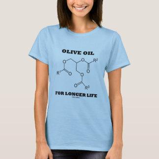 長い生命(分子)のオリーブ油 Tシャツ