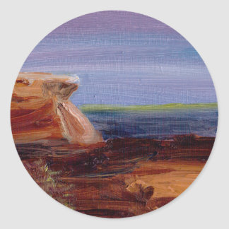 長い砂の岬 ラウンドシール