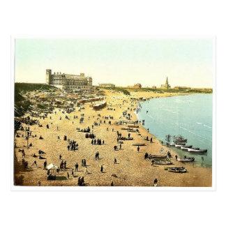 長い砂、Tynemouth、イギリス壮麗なPhotoch ポストカード